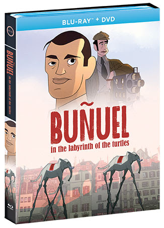 """Bunuel-in-the-labyrinth-movie-DVD Critically Acclaimed Animated Feature """"Buñuel in the Labyrinth of the Turtles"""" Makes Blu-ray and DVD Debut November 15, 2019"""