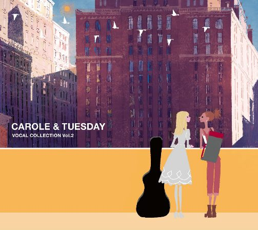 Carole-and-Tuesday-Logo-oficial-560x315 CAROLE & TUESDAY Cover illustrations for Vocal Collection Vol. 2 and Original Soundtrack Revealed!