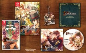 Aksys Games Unveils Code Realize ~Guardian of Rebirth~ Collector's Edition for Nintendo Switch
