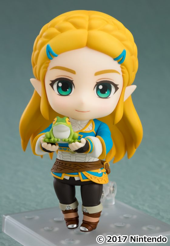 Good-Smile-Zelda-6-560x455 Good Smile Company's newest figure, Nendoroid Zelda: Breath of the Wild Ver. is now available for pre-order!