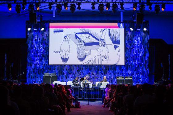 Junji-Ito-Face-2 [Honey's Anime Interview] Horror Mangaka Genius Junji Ito at Crunchyroll Expo 2019