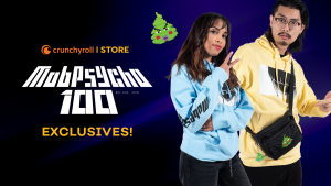 "Streetwear Brand 'Crunchyroll Loves' Officially Launches ""Mob Psycho 100"" Collection"