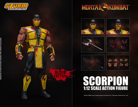 Mortal-Kombat-Storm-Collectibles-Scorpion Bluefin & Bandai Announce Activities & Exclusive Products for 2019 NYCC