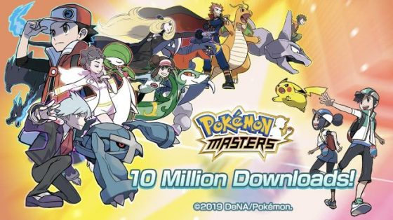 Pokemon-Masters-New-SS-1-560x314 Hit Mobile Game Pokémon Masters Surpasses 10 Million Downloads In Just 4 Days