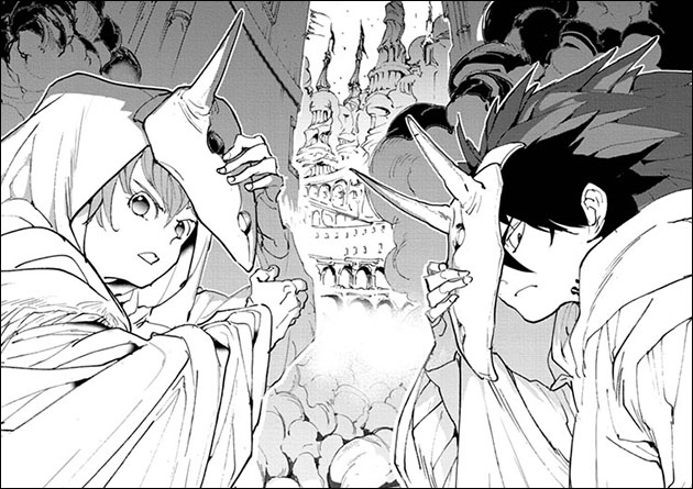 Yakusoku-no-Neverland-148-Wallpaper Yakusoku no Neverland (The Promised Neverland) Chapter 148 Manga Review