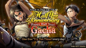 New Attack on Titan TACTICS Halloween Costumes and More