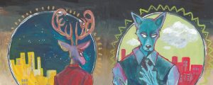 Beastars-Wallpaper-500x493 BEASTARS Review - A Furry Black Mirror