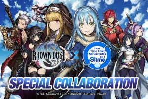 That Time I Got Reincarnated As A Slime Comes to Brown Dust!
