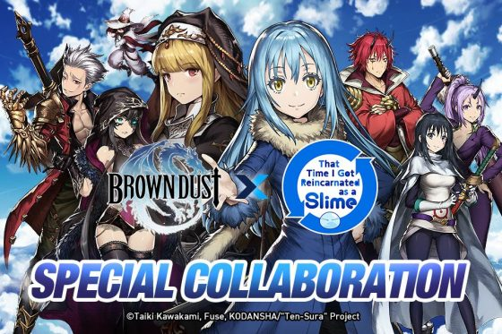Brown-Dust-Reincarnated-as-Slime-560x373 That Time I Got Reincarnated As A Slime Comes to Brown Dust!