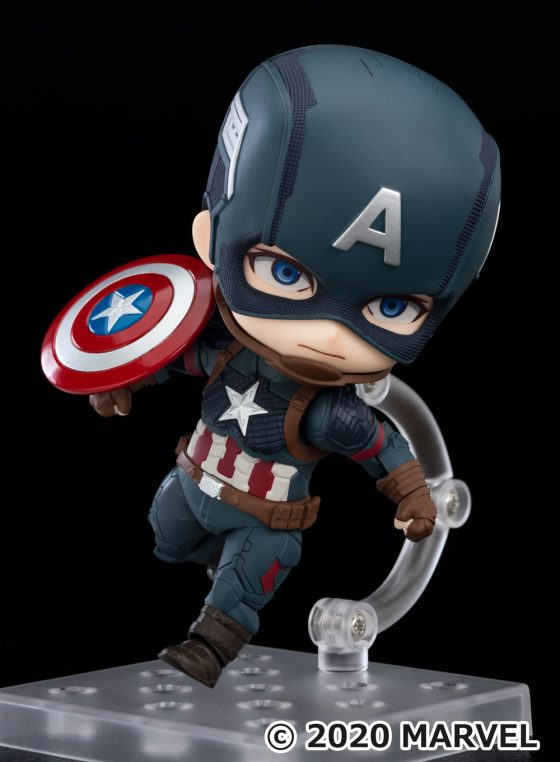 Captain-America-GSC-SS-8-560x477 Good Smile Company's newest figure, Nendoroid Captain America: Endgame Edition DX Ver. is now available for pre-order!