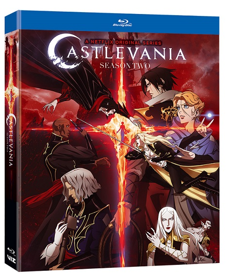 Castlevania-Season02-Bluray-3D VIZ Media Details An Array Of Pop Culture Titles For Holiday Wish Lists