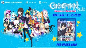 Conception PLUS: Maidens of the Twelve Stars is available for digital pre-order today!