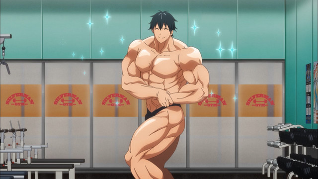 Dumbbell-Nan-Kilo-Moteru-Wallpaper [Honey's Crush Wednesday] 5 Machio Naruzou Highlights - Dumbbell Nan Kilo Moteru? (How Heavy Are the Dumbbells You Lift?)