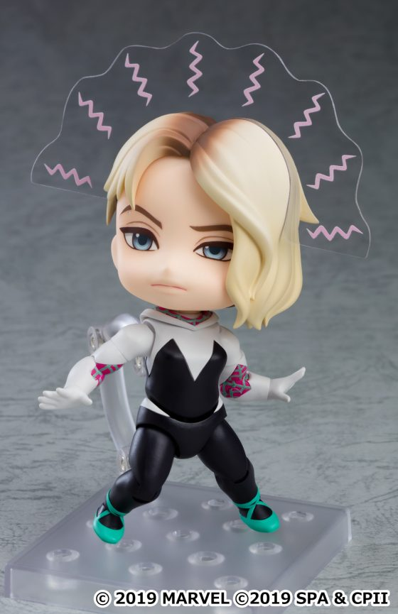 Gwen-SpiderVerse-SS-8-560x373 Good Smile Company's newest figure, Nendoroid Spider-Gwen: Spider-Verse Ver. DX is now available for pre-order!