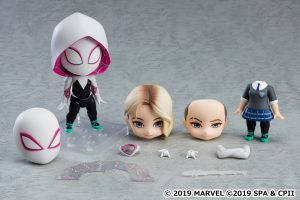 Good Smile Company's newest figure, Nendoroid Spider-Gwen: Spider-Verse Ver. DX is now available for pre-order!