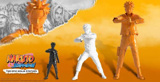 Naruto-Statue-SS-1-560x289 Naruto - The Epic Ninja Statues launch on October 15th