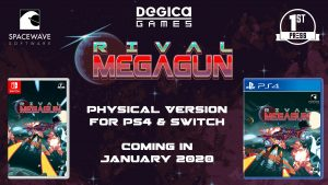 Rival Megagun - Physical Version PS4 & Switch is Coming in 2020!