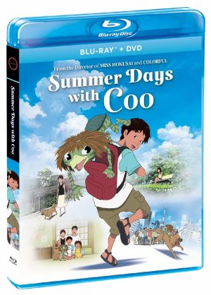 Keiichi Hara Anime Feature 'Summer Days with Coo' on Blu-ray+DVD January 21 from GKIDS, Shout! Factory