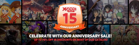 Xseed-Celebration-15-years-560x182 XSEED Games Invites Fans to Join Them in Celebrating 15 Years of Localizing Great Games with a Sale Across Most of their Catalog and Special Insights to their Past