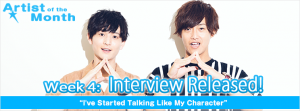 ANiUTa's Artist of the Month, ARGONAVIS, has released their fourth interview!
