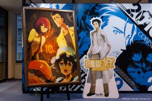 Digital Ownership of Artworks from 『STEINS;GATE』Now Available on Anique!