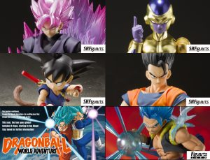 Dragon Ball World Tour Exclusive Figures Available From Bluefin For Limited Time!!