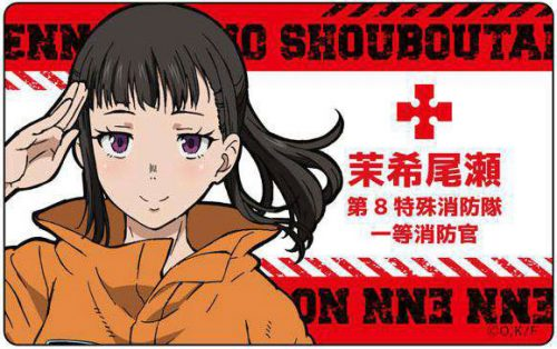 Enen-no-Shouboutai-Wallpaper-2 [Honey's Crush Wednesday] 5 Maki Oze Highlights - Enen no Shouboutai (Fire Force)