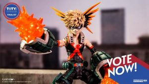 "McFarlane Toys' ""My Hero Academia"" Anime Action Figure Selected as 2020 Toy of the Year Finalist"