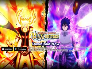 NARUTO X BORUTO NINJA VOLTAGE Celebrates 2nd Anniversary With Augmented Reality Filter, In-Game Events