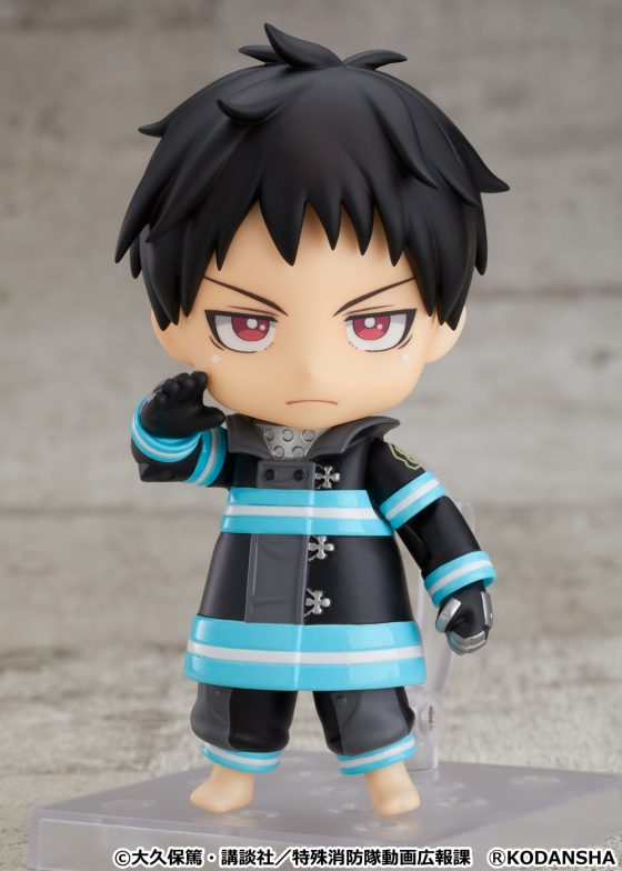 Nendoroid-Shinra-Kusakabe-SS-4-560x784 Good Smile Company's newest figure, Nendoroid Shinra Kusakabe is now available for pre-order!