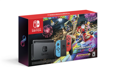 Nintendo-Bundle-SS-1 Nintendo Switch Bundle With Mario Kart 8 Deluxe Highlights Nintendo's Black Friday Offers