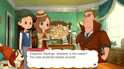 Professor-Layton-Journey-Katrielle Put Your Detective Cap On! LAYTON'S MYSTERY JOURNEY: Katrielle and the Millionaires' Conspiracy – Deluxe Edition is Now Available