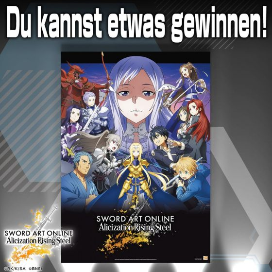 Sword-Art-Online-Rising-Steel-SS-1-560x560 SWORD ART ONLINE Alicization Rising Steel Launches Today for iOS and Android!