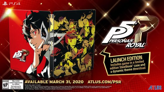 Persona-5R-Logo-560x356 Persona 5 Royal Takes Your Heart on March 31, 2020
