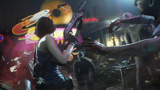 RE3_Jill_Reflection-560x315 RESIDENT EVIL 3 MODERNIZES THE CLIMACTIC EVENTS OF RACCOON CITY IN APRIL 2020!!