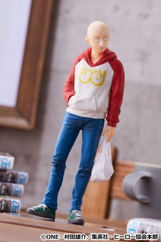 Saitama-One-Punch-Hoodie-GSC-5-333x500 ONE PAWWWWWNCH! Good Smile Company Announces newest figure, POP UP PARADE Saitama: OPPAI Hoodie Ver. is Ready for Pre-Order!