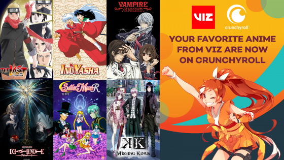 Viz-Title-Announce-16x9-560x315 Crunchyroll launches Death Note, Naruto films, Inuyasha and more through VIZ Media distribution deal