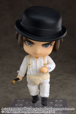 The Classics Never Die! Nendoroid Alex DeLarge from 'Clockwork Orange' is now available for pre-order!