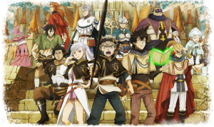 English-language of Black Clover Phantom Knights is Available NOW on iOS and Android Devices!