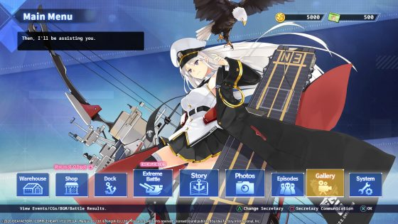 Azur-Lane-Steam-SS-7 More Characters Introduced in  the World of Azur Lane: Crosswave! Details Inside!