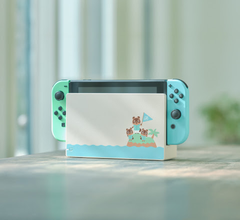 Nintendo-Switch-Animal-Crossing-New-Horizons-SS-1 Nintendo Switch Inspired by Animal Crossing: New Horizons Coming to Stores on March 13