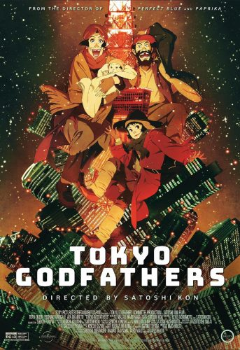 Tokyo-Godfathers-SS-2-343x500 Satoshi Kon's TOKYO GODFATHERS Returns To Theaters Nationwide On 3.9 and 3.11