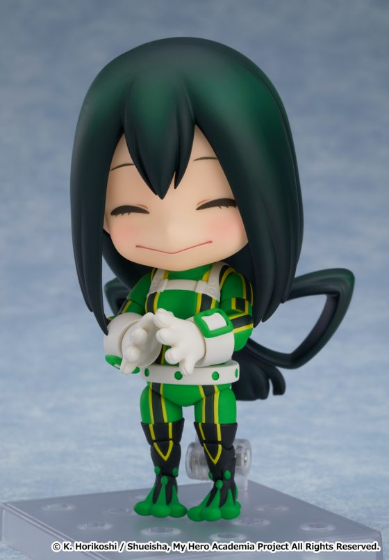 Tsuyu-Asui-GSC-SS2-560x500 Kero, Kero! Nendoroid of My Hero Academia's Tsuyu Asui Is Now Available for Pre-Order!