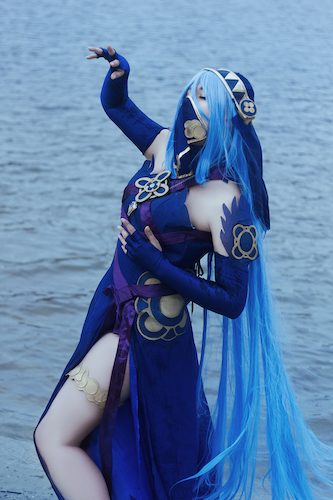 Cosplay-FireEmblem-Azura-006 Check out our AWESOME and SEXY Fire Emblem Cosplay!