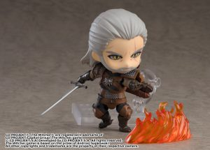 Nendoroid Geralt is Now Available for Pre-Order and Nendoroid Yennefer is Revealed at Wonder Festival 2020(Winter) in Japan!