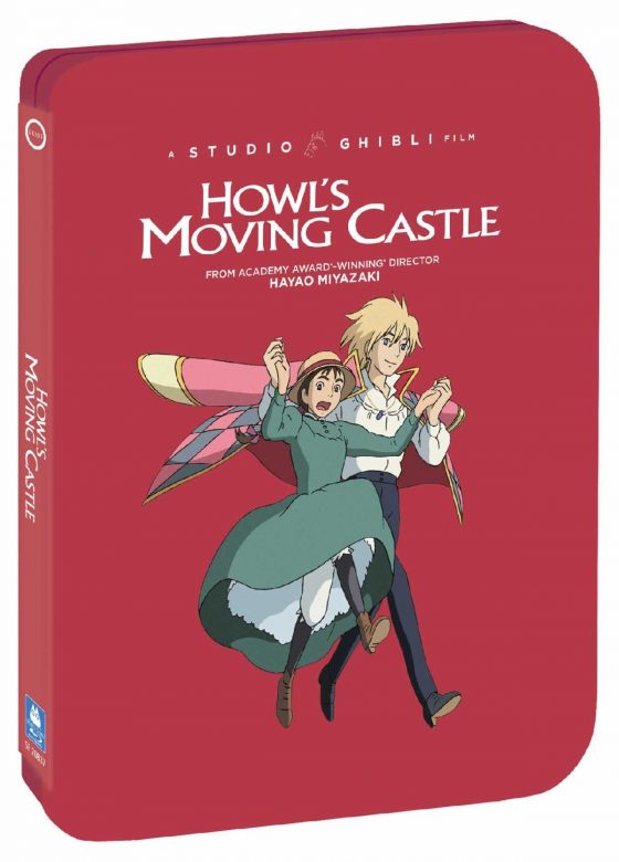 Howls-Moving-Castle-SS-1-560x780 Studio Ghibli Steelbooks 'Howl's Moving Castle' & 'Ponyo' Out May 12 from GKIDS, Shout! Factory