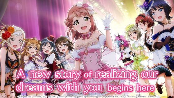 """Love-Live-All-Stars-School-Idol-Festival-SS-1-560x385 """"Love Live! School Idol Festival All Stars"""" Available for Pre-Order on the App Store and Pre-Registration on Google Play!"""