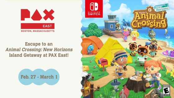 PaxEast_Animal-Crossing-H_artwork_01-560x315 Escape to an Animal Crossing: New Horizons Island Getaway at PAX East!