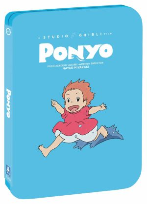 Studio Ghibli Steelbooks 'Howl's Moving Castle' & 'Ponyo' Out May 12 from GKIDS, Shout! Factory