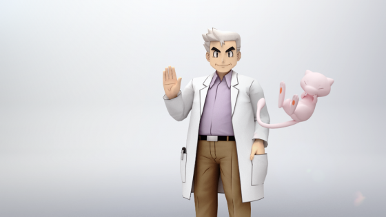 Professor-Oak-Mew-SS-1-560x315 Whoa For Real?! For the First Time Ever, Professor Oak Can Battle as a Pokémon Trainer in Pokémon Masters!